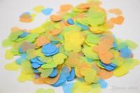 심장 색종이 테이블 중앙에있는 장식물 분산 종이 웨딩 장식 핸디 실용 핫 판매의 DIY 스크랩 연간 만나 2mpC1 제안