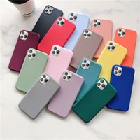 Original Solid color Silicone Case For iPhone 11 11 Pro Max ...