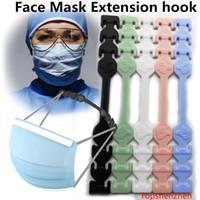 Üçüncü Dişli Ayarlanabilir Kaymaz Maske Kulak Sapları Uzatma Kanca Yüz Maskeleri Toka Tutucu Ayarlanabilir Yüz Maskesi Kanca Kulak Toka