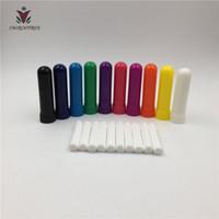240 комплектов ароматических масел инструменты назальный ароматерапия ингалятор-разнообразие 7-Pack(4 части, высокое качество хлопка фитили)