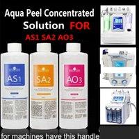 Autêntico AS1 SA2 AO3 Aqua Peeling Solution 400ml por garrafa Hydra Dermaabrasão Rosto Limpo Facial Limpeza Clearhead Exportação Líquido Reparo