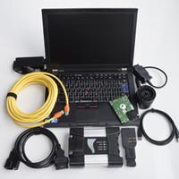 Für das BMW-Diagnose-Tool iCom Nächstes A B C 3 In1 HDD 500 GB-Expertenmodus-Laptop T410 I5 4G