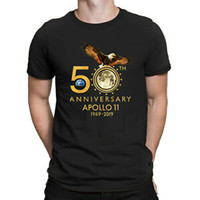 NASA 50th Golden Anniversary Apollo 11 1969 2019 T- Shirt Men...