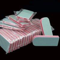 Nail 50Pcs / Lot Buffer lijado archivos de bloque de manicura pedicura esmalte de uñas Shiner de Cuidado Herramientas para pulir las uñas de arte mayorista