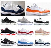 New 11 Low Snakeskin Orange Trance Concord Cool Grey Barons ...