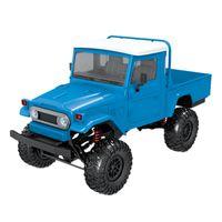Модель FJ45 RTR 1/12 2.4G 4WD RC Автомобильный Светодиодный Легкий Гусеничный Восхождение Бездорожный грузовик для мальчиков детей (синий)
