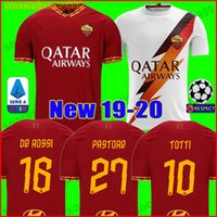 Thailand AS maillot roma soccer jersey DZEKO PASTORE rome 20...
