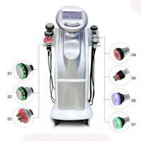 2019 Novo 80k + 40K Ultrasonic Cavitação de Cavitação MultiPolar Face do Corpo RF Frozen Onda Ultrassonic Beauty Beauty Machine