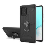 Kickstand Capas Amor Híbrido Case Phone para LG Aristo5 Aristo6 Stylo6 Stylo7 Samsung A51 A31 A21 TPU PC com Metais Anel Voltar Capa Oppags