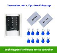 접촉 스크린 금속 cases125KHZ RFID 암호 IP65 방수 접근 제한 체계 2pcs 어머니 카드, 10pcs ID 열쇠 꼬리표, min : 1pcs