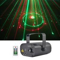 Mini 2 Objektiv 12 RG Muster Laser Projektor Bühnentechnik Licht 3 Watt Blaue LED Mischwirkung DJ KTV Show Urlaub Laser Bühnenbeleuchtung SL12RG