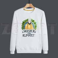 남자의 후드 스웨터 스웨터 그레타 Thunberg 환경 보호 망 디자인 재미있는 인쇄 까마귀 남자 패션 캐주얼 스웨터