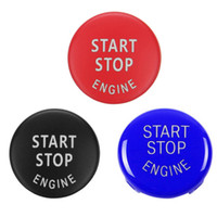 자동차 엔진 스타트 스톱 버튼 스위치 커버 액세서리 키 데코 BMW의 X1 X5 E70 X6 E71 Z4 E89 3 5 시리즈 E90 E91 E60 교체