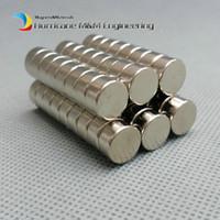 50-500 stücke N42 Disc Durchmesser 10x5 Mm 10x4 Mm Ndfeb Magnet Starker Neodym-Sensor Seltene Erdenmagnete Permanent Lab Magnete