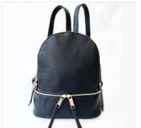 Brand Backpacks famosi di moda Donne Lady Black Red RucksAck Bag Charms Backpack Style 6 Colors