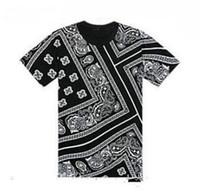 Yaz Son T Gömlek Erkekler Yağma La Rhude Bandana Baskı HARAJUKU Ktz Çiçekler Kaju Worldshine Hip Hop Erkek Tişört Artı Boyutu M-5XL