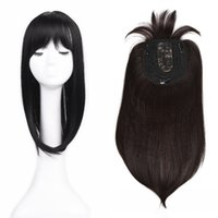 Sara Ladies Clip in Straight Hair Piece with Fringe Straight...
