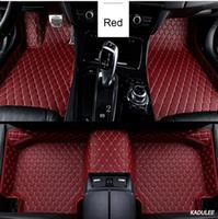 Пользовательские автомобильные коврики для Honda Accord CRV CR-V Jazz Fit City Civic CRZ UR-V INSPIRE Auto Accessories Car-Styling