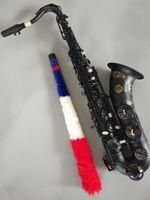 NEW تينور ساكسفون عالية الجودة اليابان سوزوكي مات الأسود آلة موسيقية اللعب المهنية تينور ساكس شحن مجاني