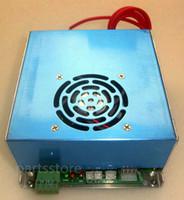 Myjg 40 واط ليزر co2 امدادات الطاقة 110 فولت / 220 فولت ل أنبوب الليزر ديي آلة القطع بالليزر 3020 3040 35-50 واط أجزاء