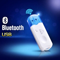 USB Bluetooth V2.1 Audio Estéreo Receptor Inalámbrico Manos Libres Adaptador de Bluetooth Dongle Kit para Altavoz para iphone para auto o hogar