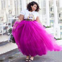 Plus taille 5 couches de jupon de mariée crinoline crinoline jolie fille fille élastique adulte accessoires de mariée tutu jupe