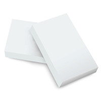 Beyaz Melamin Sünger Sihirli Sünger Silgi Mutfak Ofis Banyo Temiz Aksesuar Için 10 * 6 * 2 CM 100 Adet / grup Sünger