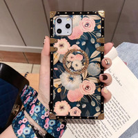 1pcs Mobile Phone Case Creative Fashion Square Diamond With ...