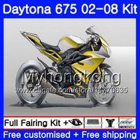 Body For Triumph Daytona 675 02 03 04 05 06 07 08 Daytona675 Nuova cornice dorata 322HM.3 Daytona 675 2002 2003 2004 2005 2006 2007 2008 Carena