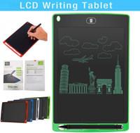 EN kaliteli 8.5 inç LCD Yazma Tabletler Memo Çizim Tablet Elektronik Grafik Panoları Çocuklar için Dijital Not Defteri Pad ile Ofis Ev için Kalem