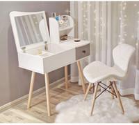 Multifunción Flip Lider Cómoda Nórdica Gabinete de almacenamiento Girl Lady Dormitorio Muebles Moderno Pequeño Detalle Escritorio