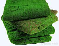 Erba artificiale prato falso Muschio simulazione pianta verde parete Muschio fogliame Artificiale Per La Casa Decorazione di Cerimonia Nuziale