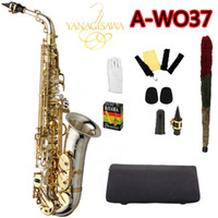 العلامة التجارية الجديدة yanagisawa A-WO37 ألتو ساكسفون النيكل مطلي الذهب مفتاح المهنية ساكس مع حالة المعبرة والاكسسوارات