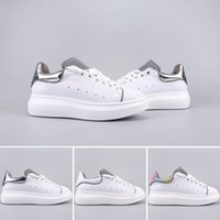 Womens Luxury Designer Silver White Multi Shoes New Style Fa...