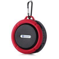 Étanche C6 Bluetooth Haut-parleurs Chuck Spam Portable Mini Portable Haut-parleur d'extérieur / douche avec 5W Haut-parleur / ventouse 5 couleurs