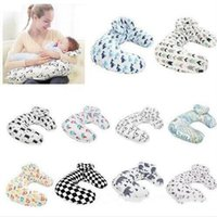 Brustfutterkissen Pflege Schwangerschaft Mutterschaft Kissen Säugling Cartoon U Kissen Schlafende Kissenstütze abnehmbar Neugeborenen Kissen C6494