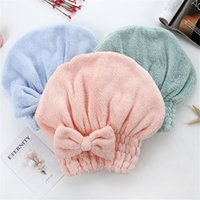 Bathroom Products 1PC Cartoon Microfiber Hair Turban Quickly...