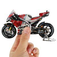 Maisto 1:18 da motocicleta Modelo Toy Alloy carro de corrida de montanha moto Desmosedici No.4 Motocross brinquedos para crianças Coleção T200110