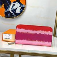 Nuevas mujeres ESCALE diseñador billetera monedero largo alta calidad de lujo ZIPPY ESCALE 26 bolsos de bolsillo titular de la tarjeta de moda con la caja original