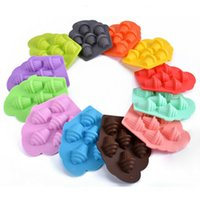 1Pc Silicone Ice Cream Shape Chocolate Cake Cookie Mould Bak...