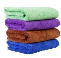 مستلزمات الحيوانات الأليفة الكلب الألياف منشفة لتجفيف المناشف أزياء الحيوانات الأليفة مناشف حمام تنظيف القماش 40 * 60CM 100pcs التي / الكثير YSY405-L