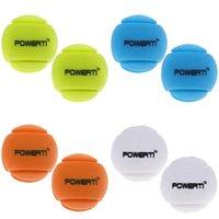 8 Штук смешанных цветов Премиум Силиконовые формы шарика вибрации Увлажнители теннисную ракетку аксессуары