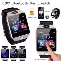 Batteries de haute qualité intelligente Montre DZ09 intelligente Wristband SIM intelligente Android Sport Watch pour Android Cellphones relógio inteligente