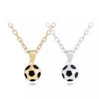 Новой мода Футбол Шарм Подвеска Ожерелье персонализированного Спорт Команда подарки ювелирные изделия для мальчиков Бесплатной доставки
