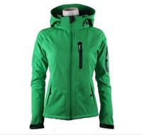 All'ingrosso-Il cappotto Donne Softshell Jacket Uomo All'aperto Sport cappotto donna sci escursionismo invernale antivento Outwear Soft Shell