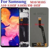 6.2 pulgadas LCD de pantalla para Samsung A105 A10 A105F A105G SM-A105F M10 M105 M105F Pantalla LCD táctil digitalizador repuesto