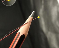 8V- 12V 0402 0603 1206 Pre-geschweißt Mikro-Lithium-Batterie SMD LED Draht Miniatur Blei Litze 20cm DIY