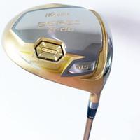 جديد نوادي الجولف Honma S-06 الأندية Briver 9.5 أو 10.5 Loft 4star Golf Driver الجرافيت Rhaft r أو s golf رمح شحن مجاني
