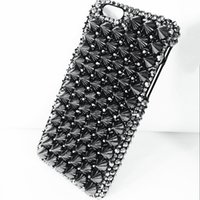 For iphone x phone case NEW Cool rivet phone case punk drill...