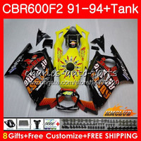 Body + Tank For HONDA CBR 600F2 Hot Repsol CBR600FS CBR 600 F...